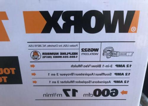 WORX 70-MPHVacuum Kit Corded