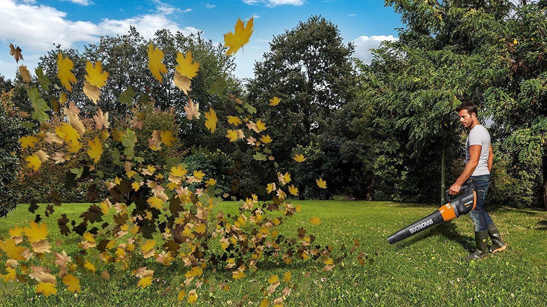 Trubine Leaf Blower Sweeper
