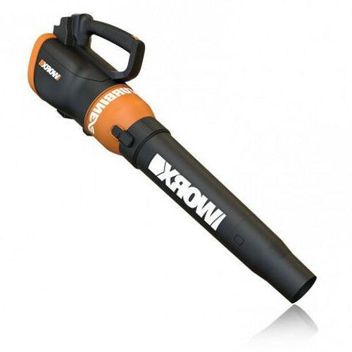 wg546 20v cordless trubine leaf blower sweeper