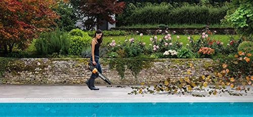 WORX TURBINE 20V Cordless BlowerSweeper with CFM with Batteries