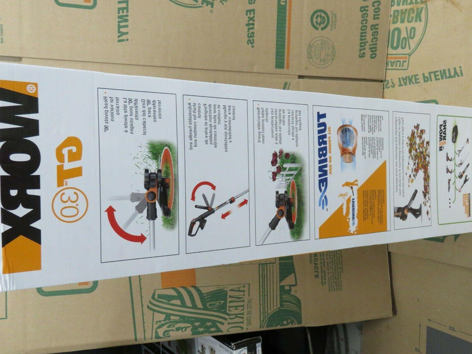 WORX WG921 PowerShare Grass Trimmer & Batteries