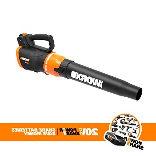 Worx WG954.1 Grass Trimmer/Edger Blower Kit with Two