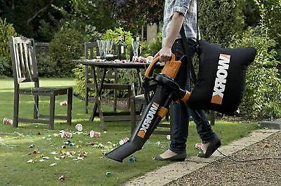 Worx S Mulcher Vacuum