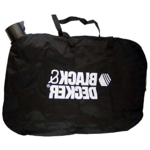 Zipper Leaf Blower Bag For Black And Decker BV-005 LH4500 Ya