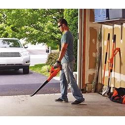 Leaf Blower 20V MAX Lithium Cordless Sweeper BLACK+DECKER Cl