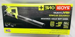 Ryobi Leaf Blower Cordless 90MPH 200CFM ONE+ Lithium-Ion 18V