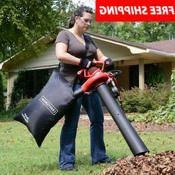 Craftsman Leaf Blower 2 Speed 12 AMP Lawn Yard Sweeper Vacuu