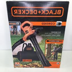 Leaf Blower Vacuum And Mulcher 250 Mph And 400 CFM W/ 2x Bag