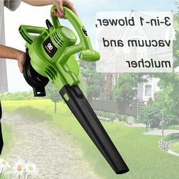 Best Partner Leaf Blower, 3-in-One Electric Blower/Vacuum/Mu