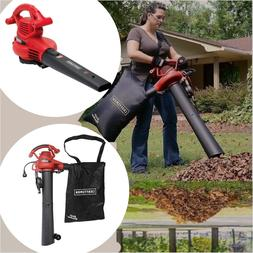 leaf blower vacuum sucker shredder lawn yard