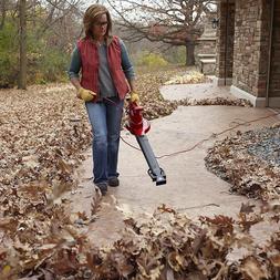 Leaf Blower Vacuum Sweeper Grass Leaves Snow Handheld Variab