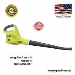 Ryobi Leaf Hard Blower Sweeper Lithium-Ion Cordless Handheld