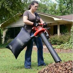 Leaf Vacuum Shredder Blower Handheld Bag 2 Speed Electric Mu