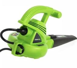 lightweight corded electric leaf blower 7a 160