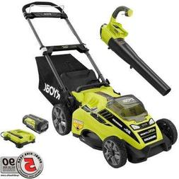 20 in. 40-Volt Lithium-Ion Cordless Lawn Mower with Jet Fan