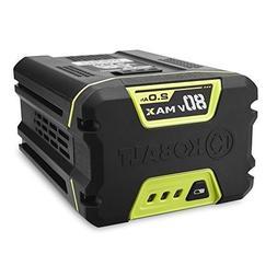 Kobalt 80-Volt Lithium Ion  Cordless Power Equipment Battery