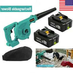 For Makita 18V Li-ion Battery 2 in 1 Cordless Leaf Dust Blow