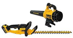 22 in. 20-Volt MAX Lithium-Ion Cordless Hedge Trimmer with 5