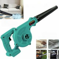 For Mikita 18V Cordless 2 in 1 Leaf Dust Blower Air Blowing