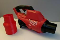 milwaukee m18 fuel leaf blower stubby nozzle