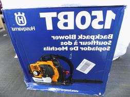 NEW Husqvarna 150BT 50cc 2 Cycle Gas Commercial Leaf Backpac