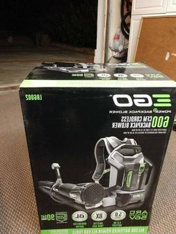 NEW EGO Backpack Leaf Blower LB6002
