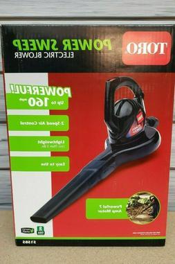 NEW Toro Electric Handheld Leaf Blower 160 mph 155 CFM 7 Amp