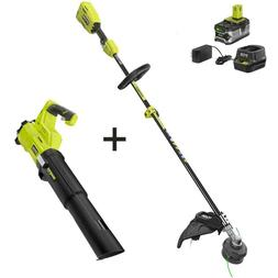 RYOBI ONE+ 18-Volt  Cordless Attachment Capable String Trimm