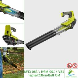 one 18v leaf blower jet fan 100