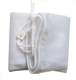 PoolSupplyTown Fine Mesh Leaf Bag with Pull-N-Lock Cord For