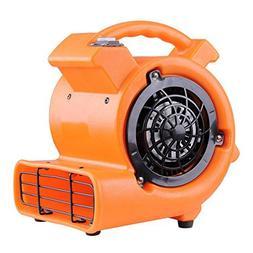 Portable Air Mover Fan Dryer Floor Blower 1/12 Hp 349 CFM