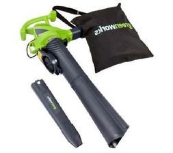 Greenworks Powerful Leaf Blower / Vacuum Corded 2 Speed 230M