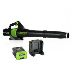 Greenworks Pro 60V Cordless Jet Leaf Blower Li-on w/ Battery