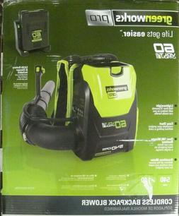 Greenworks Pro 60V Lion 540-CFM 140-MPH Cordless Leaf Blower