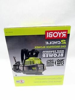 Ryobi  RY38BP 175 MPH 2 Cycle 38cc Gas Backpack Leaf Blower
