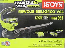 Ryobi RY40410A 40-Volt Lithium-ion Cordless Blower/Sweeper