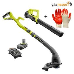 Toucan City Ryobi ONE+ 18-Volt Lithium-Ion String Trimmer/Ed