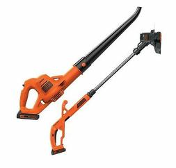 Trimmer Electric Cordless Leaf Blower Grass Yard Lawn Air Ga