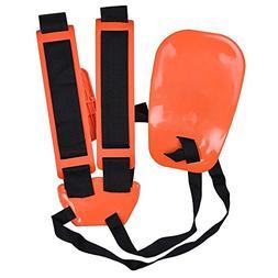 Trimmer Shoulder Strap,Kisstaker Trimmer Harness Strap Doubl