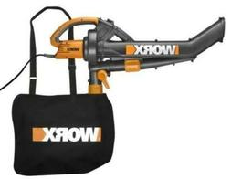 Worx Trivac Collection 3-in-1 Blower Mulcher And Vacuum New