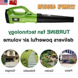 Turbine Powerful Air Volume Brushless Leaf Blower Sweeper 2-