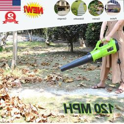 Turbine Powerful Electric Leaf Blower Vacuum Sweeper 120MPH
