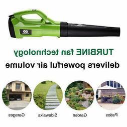 Turbine Powerful Leaf Blower Ergonomic Handle Design 2 Speed