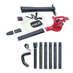 Ultra 12 Amp Electric Leaf Blower Vacuum Mulcher And Gutter