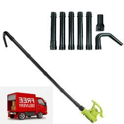 Universal Gutter Cleaning Blower Vaccum Attachment Kit Debri
