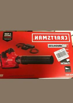 Craftsman V60 600-CFM Brushless Cordless Electric Leaf Blowe