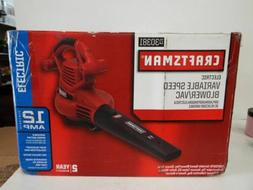 Craftsman Variable Speed Blower Vac-30381-NEW