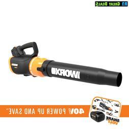Worx WG580 40V LEAF BLOWER NEW