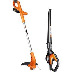 WG919 WORX 20V Lithium 2-in-1 Grass Trimmer & Blower Combo