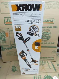 wg921 20v powershare grass trimmer edger